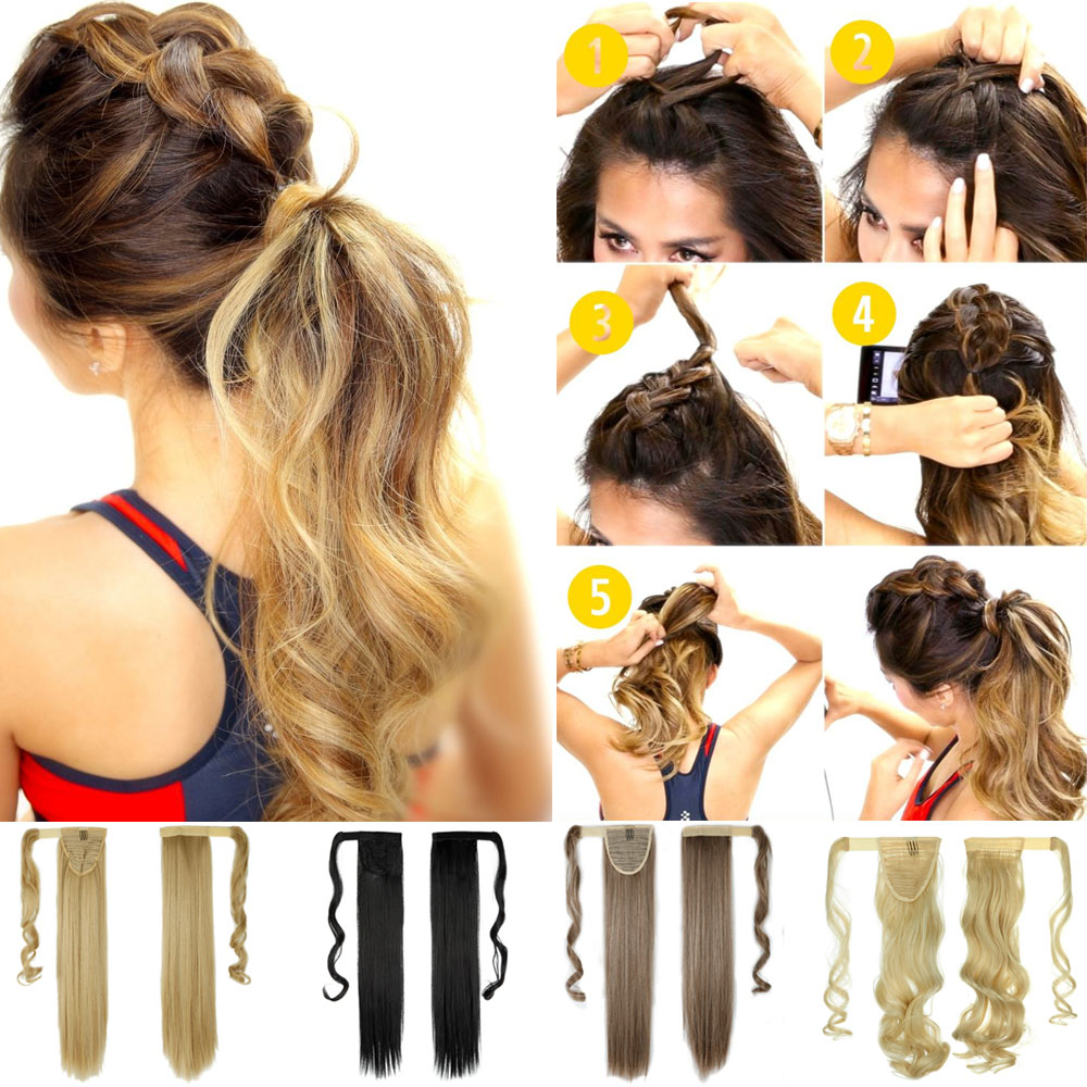 Amazing Online Get Cheap Top Ponytail Aliexpress Com Alibaba Group Short Hairstyles Gunalazisus