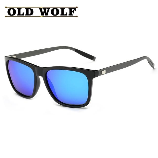 Brand Unisex Retro Aluminum+TR90 Sport Sunglasses Polarized Lens Vintage Eyewear Accessories Sun Glasses For Men Women SG084