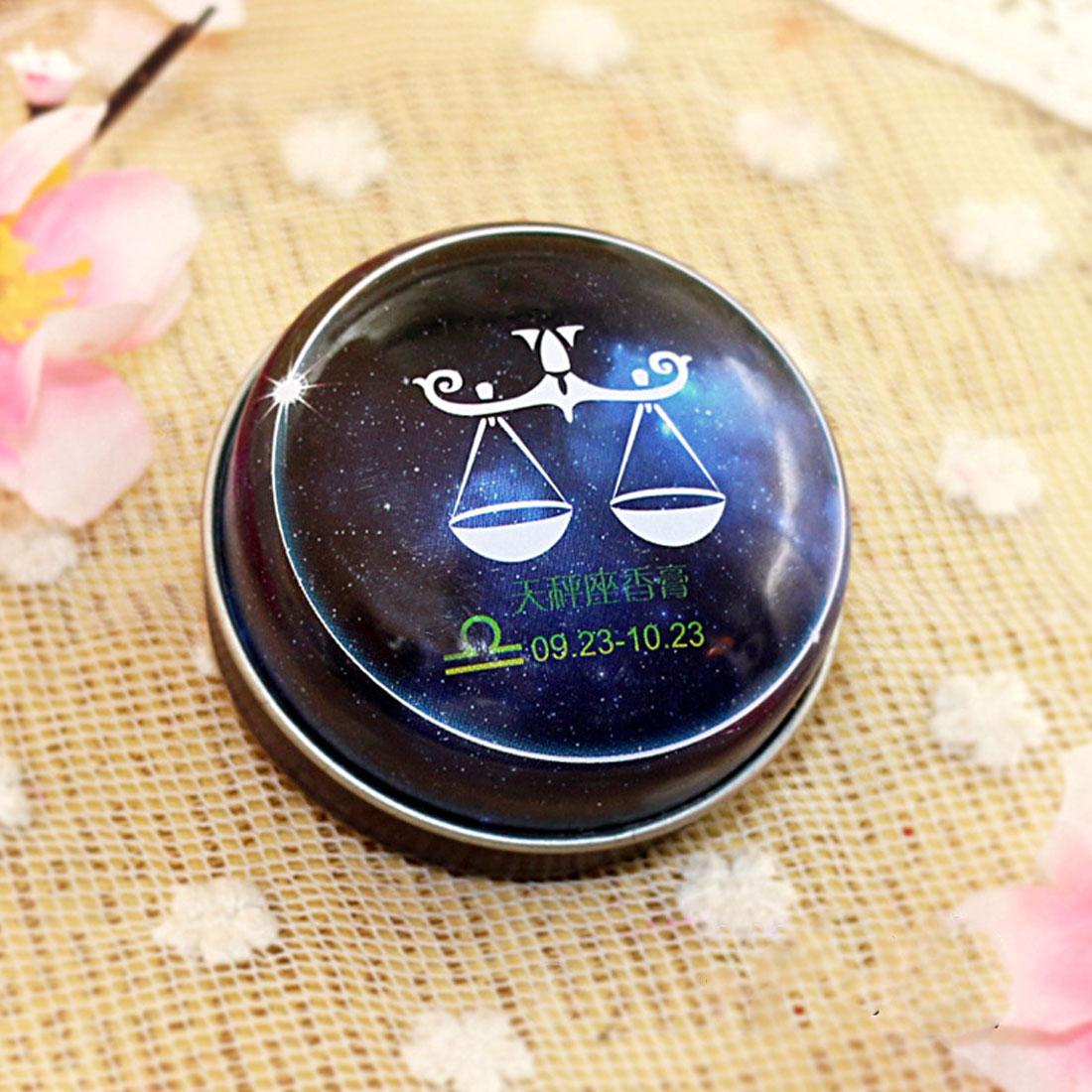 Hot Mini 1 PC Unisex Magic Zodiac Fragrance 12 Signs Constels