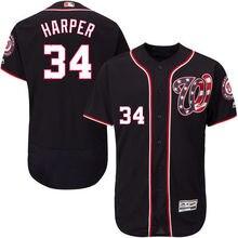 7905e0e40 MLB Men s Washington Nationals Bryce Harper Baseball Alternate Navy Flex  Base Authentic Collection Player Jersey(