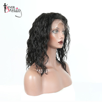 Wavy Brazilian Human Hair Bob Wigs For Women 130% Density Ever Beauty Remy Hair Bob Lace Front Wigs 10 16 Inches