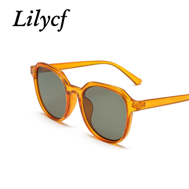 2019 New Wild Square Sunglasses Fashion Pop Ladies Glasses High Quality Personality Women's Brand Designer UV400