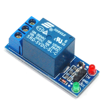 1PCS 5V Relay Module 1 Channel Low level for SCM Household Appliance Control FREE SHIPPING For Arduino