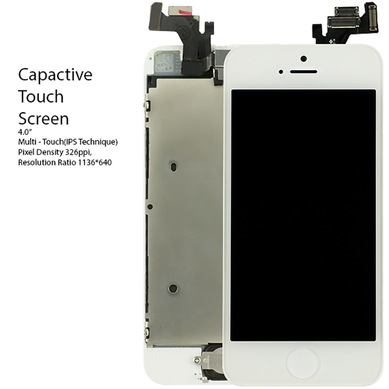 Full Assembly for iPhone 5s Screen Replacement LCD Digitizer for iPhone 5 5c se Touch Home Button Camera Parts KITS Tools Flim ...