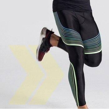 18f6d928 Новые мужские компрессионные брюки для бега Rashgard MMA Gym Tight Joggers  Yoga Леггинсы мужские брюки фитнес-бег спортивные брюки
