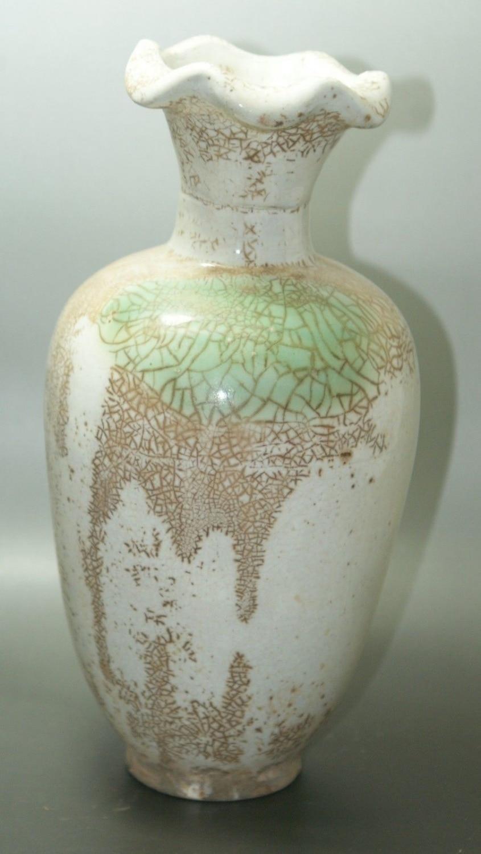 Fine Old China Crackle Glaze Ceramic Old Vase Porcelain Amp Pottery Collectible Old Porcelain In