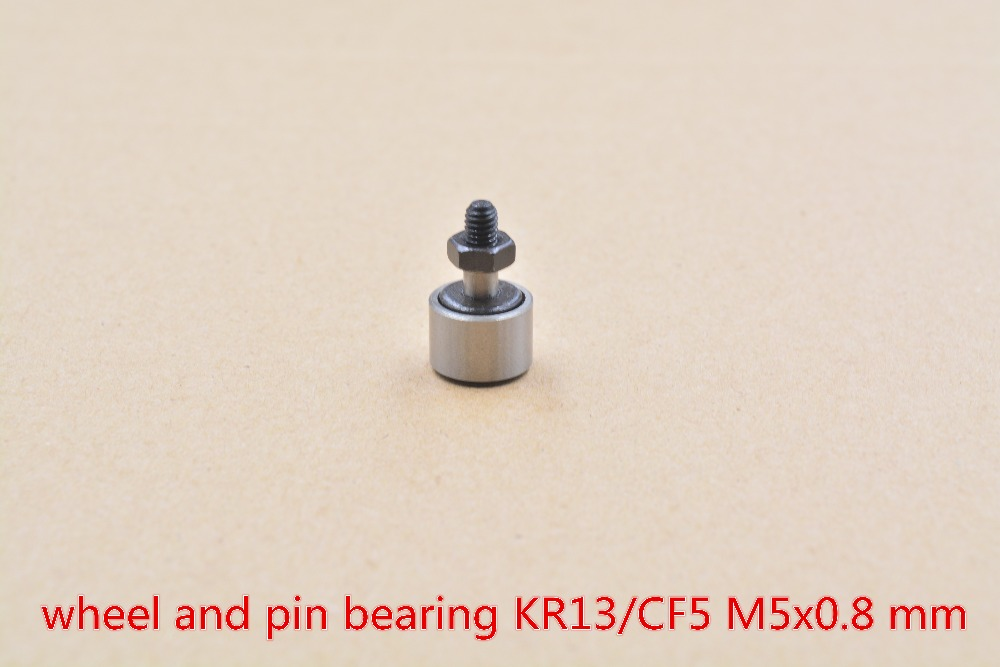KR13 KRV13 CF5 Cam Follower Needle Bearing Wheel And Pin  1pcs