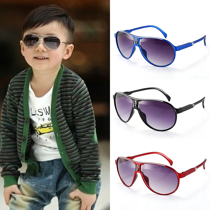 High Quality Kids Sunglasses Colorful Glasses Frame Girls/Boys Sun Glasses For Children UV400 Baby Glasses Mirror Sunglass