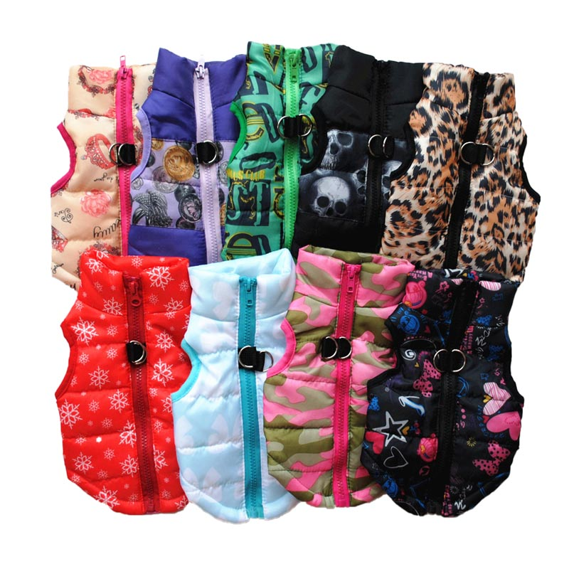 XS XL Warm Pet Clothing Winter Dog Clothes Small Dog Coat Jacket Pet Clothes For Dogs Costume Dog Vest Puppy Outfits Pug Yorkie in Dog Coats Jackets from Home Garden