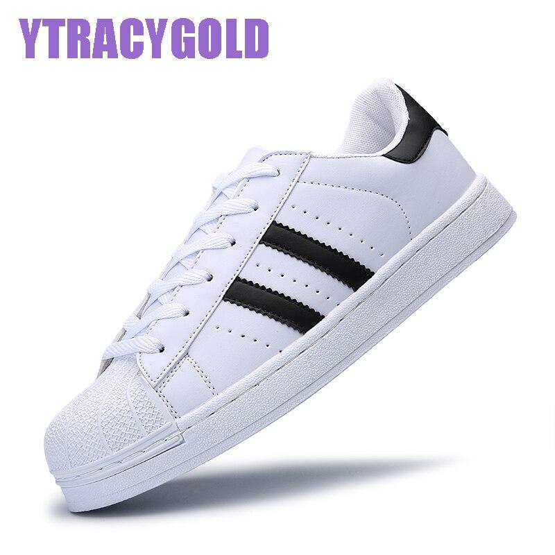 YtracyGold Women Casual Shoes Fashion Flat Slipony Shoes for Women Lovers Unisex Basket Femme Tenis Feminino Chaussures Femme