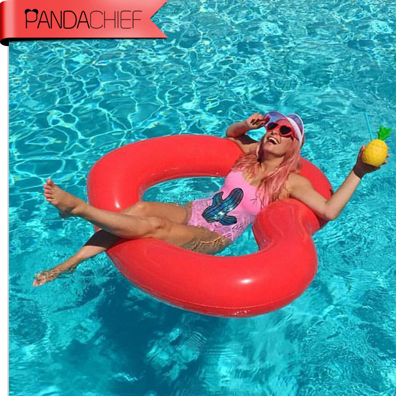 2017 New 1 1m Sweet Heart Giant Pool Floats Adult Large