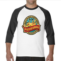 2017 Various Colors Funny Cotton FSM Flying Spaghetti Monster Funny Funny Raglan Sleeve T Shirt Men