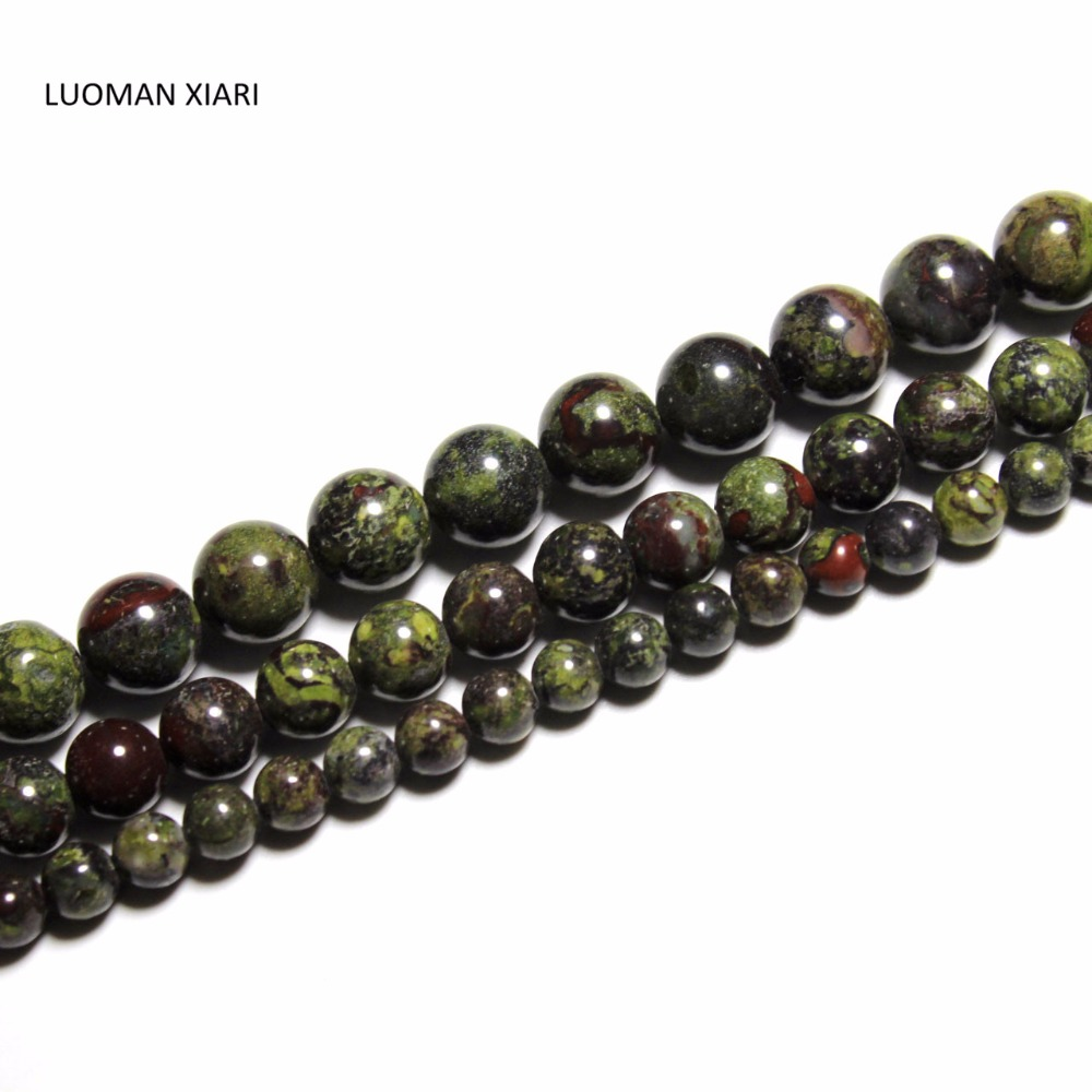 NATURAL 6//8//10//12MM PICASSO JASPER GEMSTONE ROUND LOOSE BEADS Necklace 18/'/' AAA