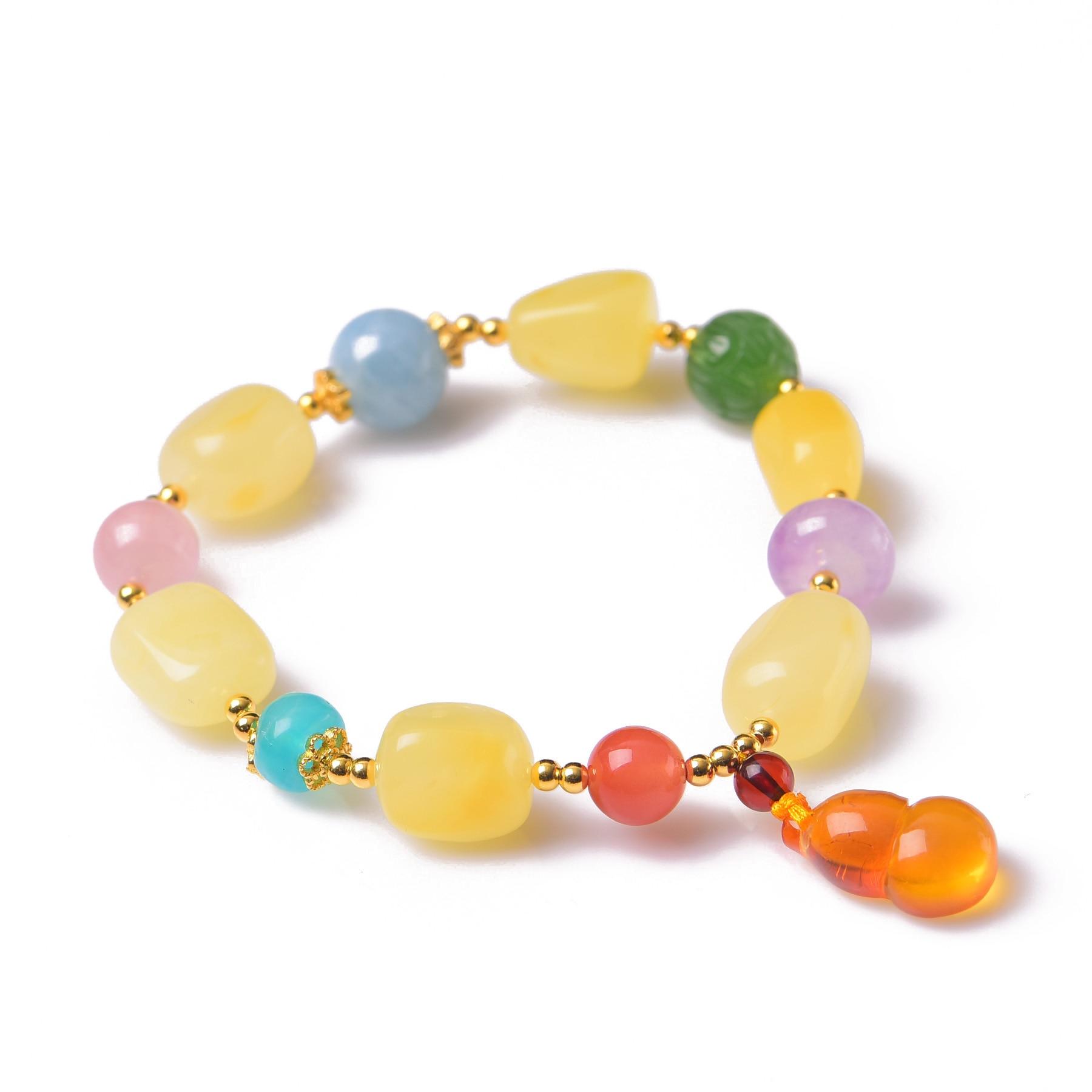 Handmade Authentic Multi-Crystal Beads Bracelets handmade authentic multi crystal bracelets