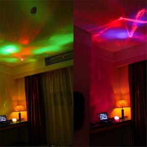 Image 5 - Coversage Nachtlampje Ocean Wave Aurora Sky Speaker Projector Baby Kids Slaap Romantische Led Starry Star Master Verwisselbare Lamp