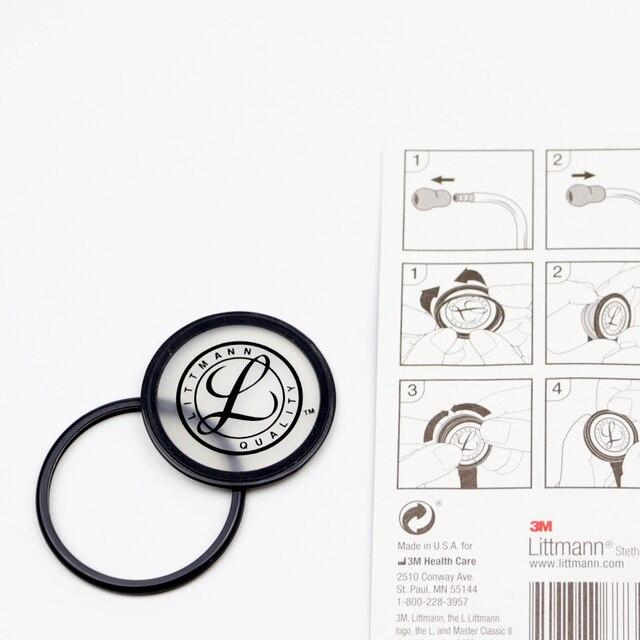 Nouveau Littmann stéthoscope oreillettes oreillettes pièces de rechange Kit de remplacement diaphragme réglable et assemblage de jante