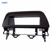 Top Quality 1 DIN BLACK Car font b Radio b font Fascia for 02 07 Mazda