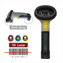 Handheld Wireless Bluetooth Barcode Scanner Bar Code Reader Works with iPad, iPhone, Android for iOS, Android windows System