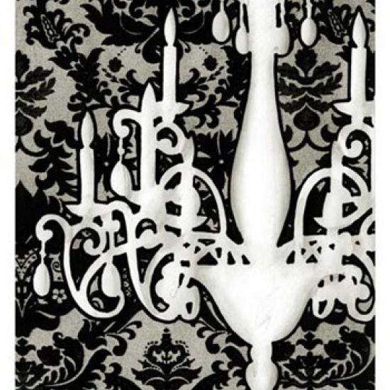 Small Patterned Chandelier I (P) Poster Print by Ethan Harper (13 x 19)