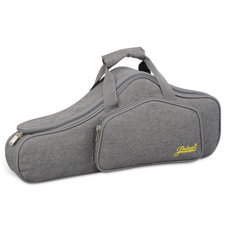 Portable Water resistant Alto Saxophone Sax Bag Case 15mm Thicken Padded Double Zipper with Adjustable Shoulder