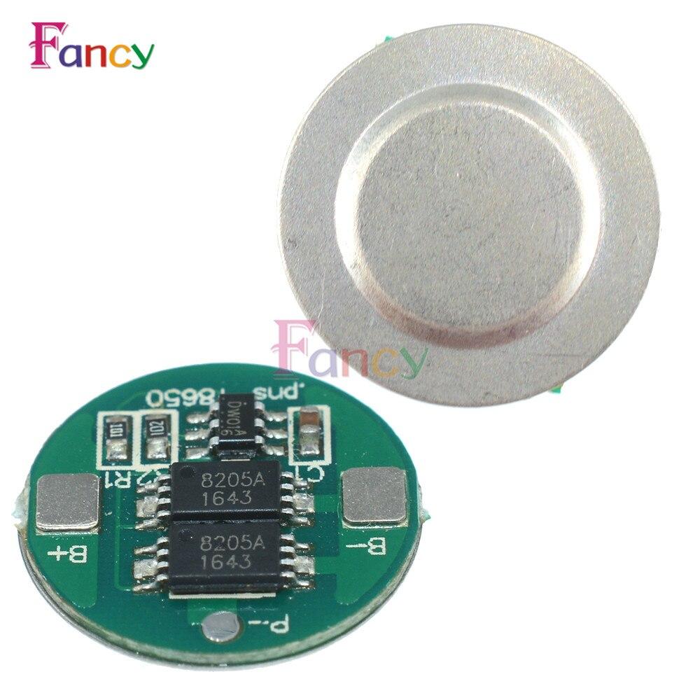 10 шт. двойной MOS Батарея защиты доска для 18650 литиевая Батарея
