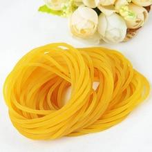 Прочный эластичный около 300 шт./пакет офисное резиновое кольцо держатель ленты