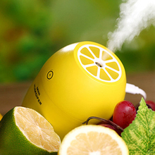 New Lemon Cool Mist Humidifier Personal Mini Portable Night Light USB Creative Air Humidifier Facial Skin Care Tool