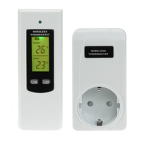 Low High Temperature Alarm Extensor De Controle Remoto 433MHz Remote Control Wireless RF Plug In Thermostat