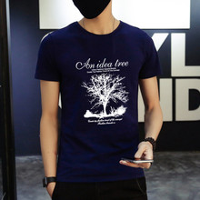 2bcd164b72bd Men s cotton T shirt fashion casual outdoor sports style 2019 explosion  models Hot sale style classic