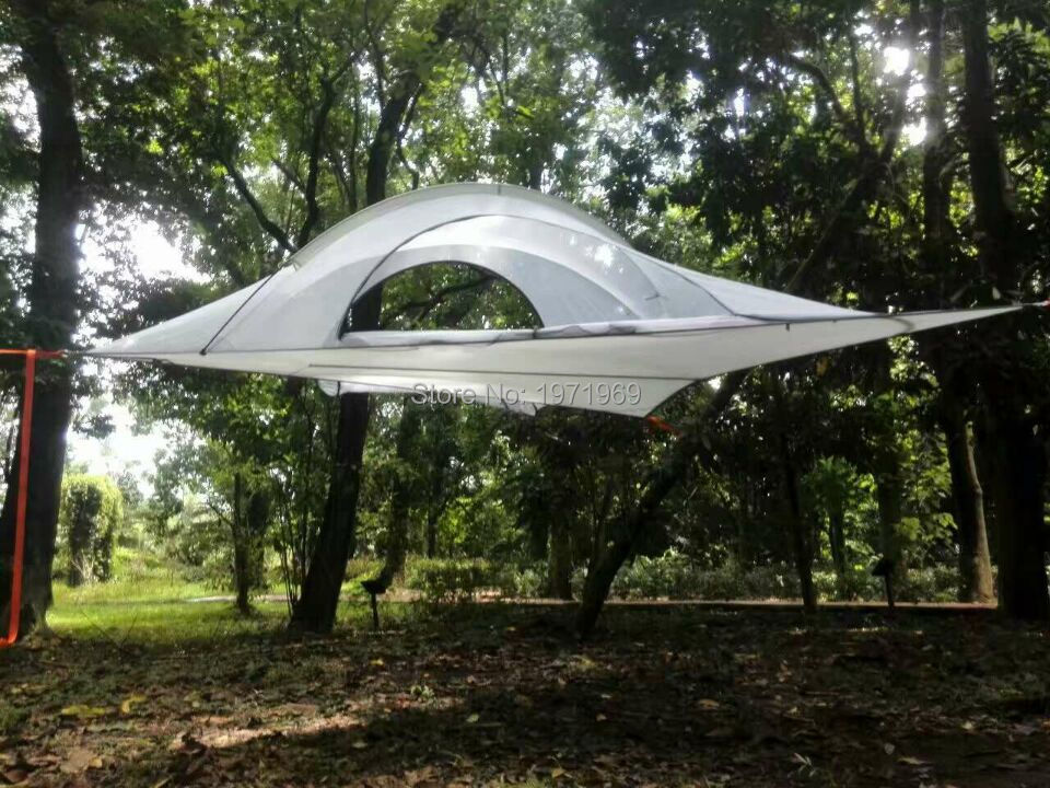 interesting buy outdoor c&ing adventure tents c&ing hammocks mosquito nets hammocks suspended tents hanging trees hanging tr from reliable with hanging ... & Hanging Tents From Trees. Hanging Tree House Treepod With Hanging ...