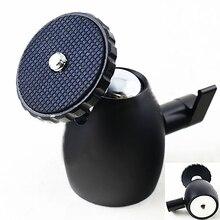 360 градусов вращающийся мини 1/4 дюйма quick release алюминиевый сплав штатив шаровой головкой