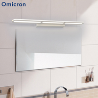 Omicron New White Led Mirror Front Lamp Adjustable Head Bathroom Wall Sconce Painting Lighting Bedroom Restroom Makeup Lamp