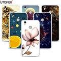 Funda Для Oukitel U7 U7 Плюс Case Мандалы Цветы Спп Для Oukitel Плюс Coque Мягкого Силикона Прозрачный Телефон Случаях