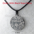 Mom Gift MAMA FOREVER Pendant Necklace RopeChain Women Girl,Wholesale Stainless Steel Jewelry Love Mother Gift,Big order off 50%