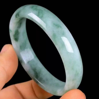 56 64mm Inner Diameter Grade AAA High Quality Natural Jade Bangles Fine Gem Jade Bracelet Jewelry For Women Chinese style Gifts