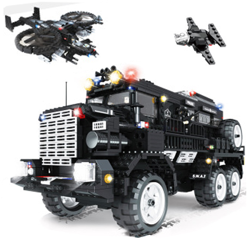 Police Series Military Kids City Weapon Ship Aircraft Car Dolls Boys Toys Building Blocks Compatible with Legoe kaygoo building blocks aircraft airplane ship bus tank police city military carrier 8 in 1 model kids toys best kids xmas gifts