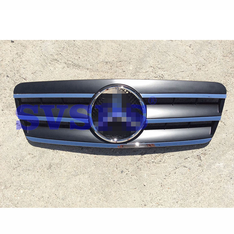 High Quality ABS Front Middle Grille For Mercedes Benz CLK