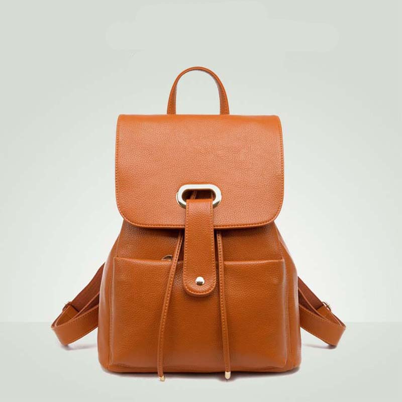 2017 New Fashion Backpack Women School Bag For Girl Backpack Leather Laptop Backpack Women School Bags For Teenagers Back Bag tcttt new 2016 travel bag women laptop backpacks girl brand rivet backpack fashion chains knapsack school bags for teenagers