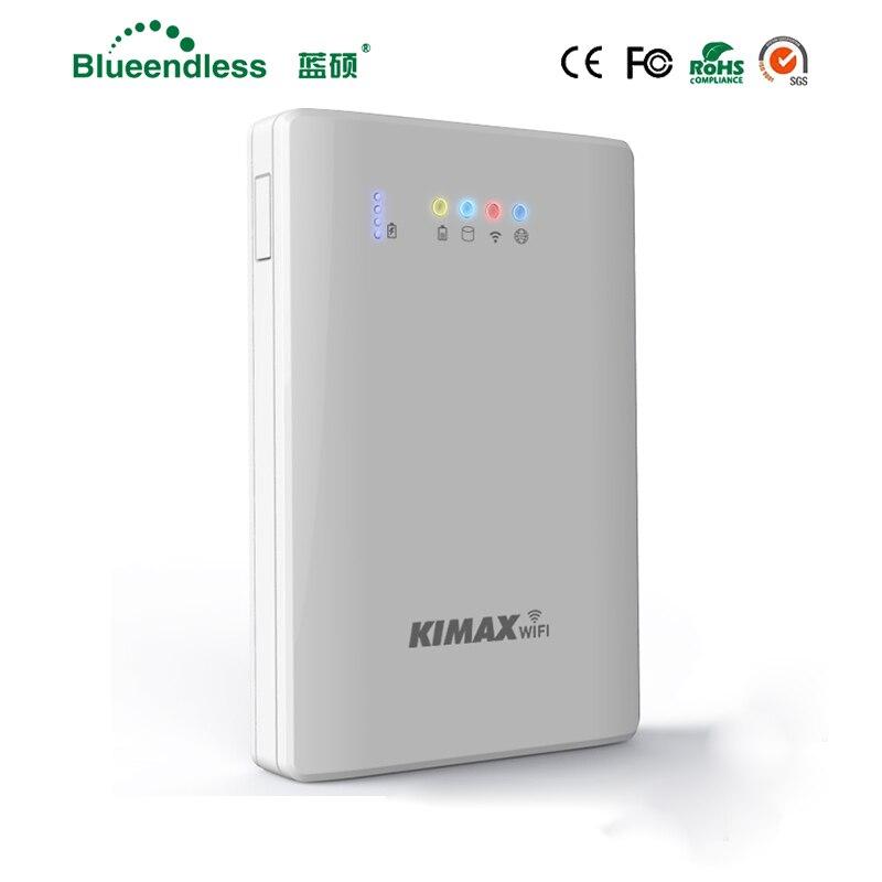 4000 mah Powerbank Jeu jouer! Wifi Répéteur Sata USB3.0 Hdd Cas 1 tb Disque Dur Caddy Externe HDD SSD Cas pour Téléphone/Tablette/ PC