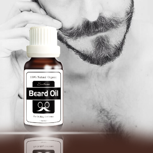 2017  Original Beard growth oil mustache grow stimulator 100% natural accelerate beard growth oil facial hair grower 5