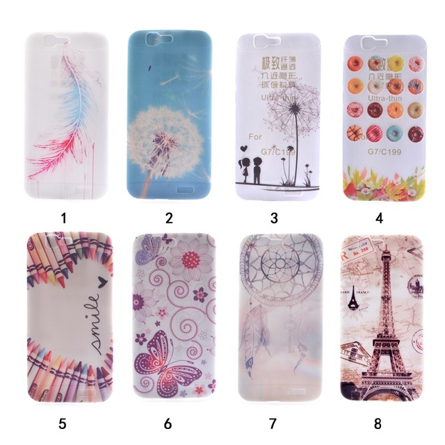 948348105a1 Hot Selling Fundas Para Huawei Ascend G7 Case Cover Colorful CandyTPU Soft  Silicone Case Carcasas Huawei Ascend G7 Free Shipping