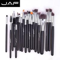 Jaf marka 20 adet profesyonel karıştırma fırça seti vakfı makyaj araçları set yüksek quanlity makyaj fırçalar set güzellik kozmetik
