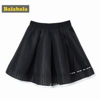 Balabala Girl Net Veil Skirt Kids A Line Knee Length Princess Clothes Skirts Girls Clothing Kids