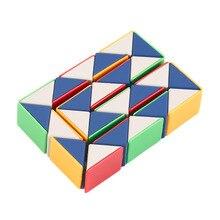 Змея Magic 3D Куб Игра-Головоломка Твист Игрушки Партии Путешествия Семья Ребенок Подарок Новый Горячий!