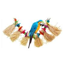 PipiFren птица игрушки для африканских серых попугаев и домашних животных клетка аксессуары Cockatiel окунь Budgie Parakeet украшения jouet oiseaux