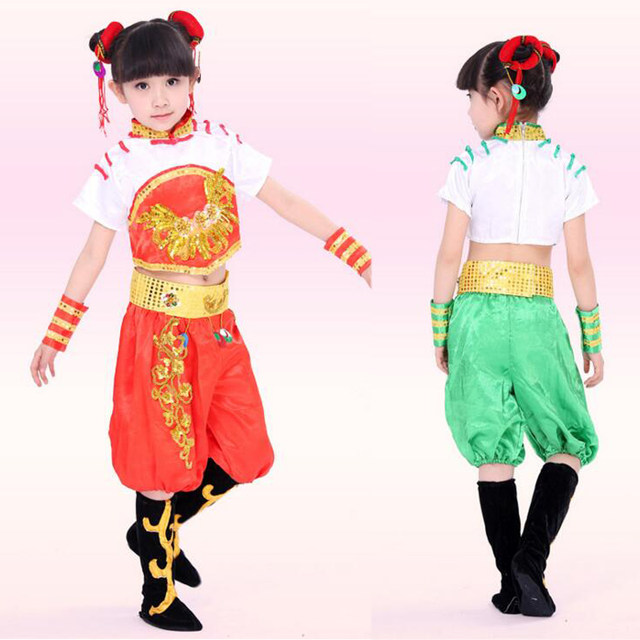 3ee91f1adeab Online Shop Children s Ancient Dance Clothing dancewear kIDS chinese ...