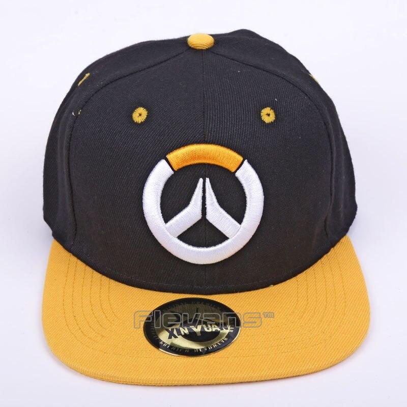 Hot Game OW Logo 2017 Trend Hat Snapback Cap Mens ...