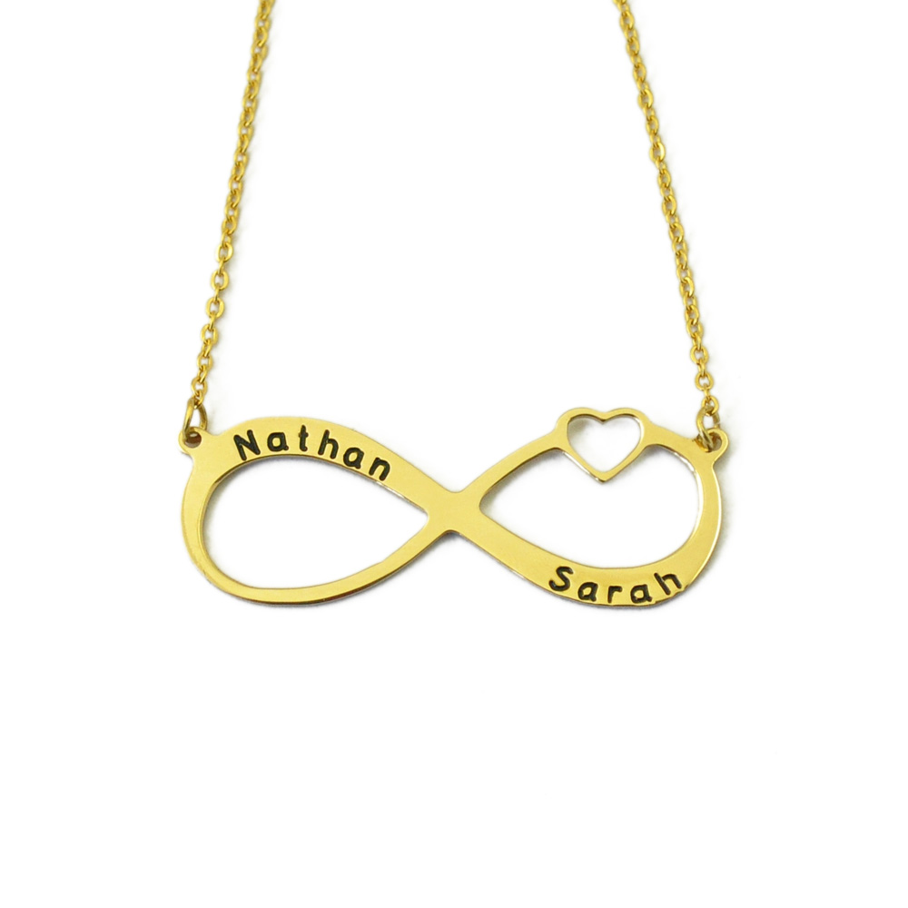 infinity pendant necklace main material product