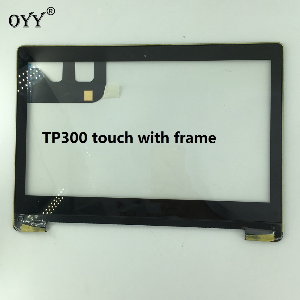 touch Screen Digitizer Glass Panel Replacement Parts 13.3 for Asus Transformer Book Flip TP300 TP300LA TP300LD new 10 1 inch tablet touch glass digitizer panel lcd display screen assembly replacement for asus transformer book t100h t100ha