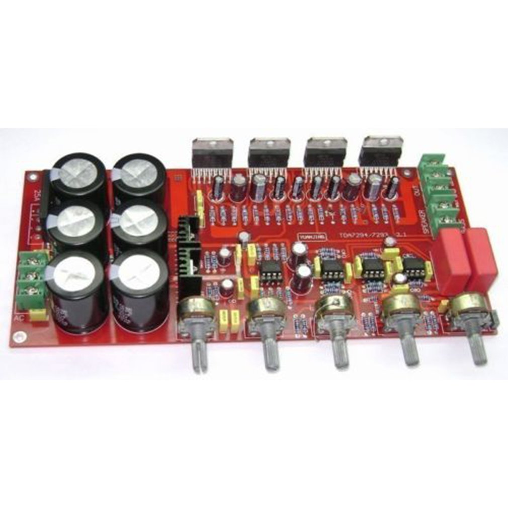 Electronic TDA7294 Amplifier Board 2.1 Power Amplifier Board 2X80W+160W Subwoofer YJ00235